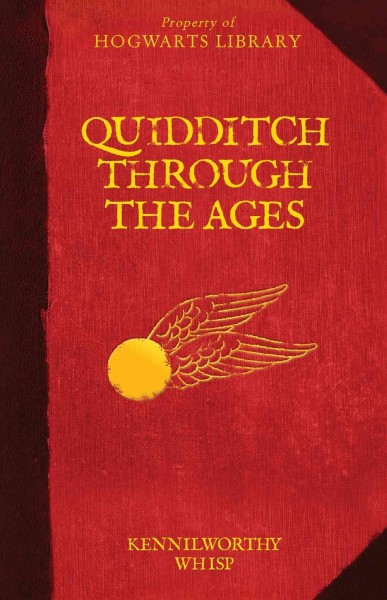 Cover of Quidditch Through the Ages