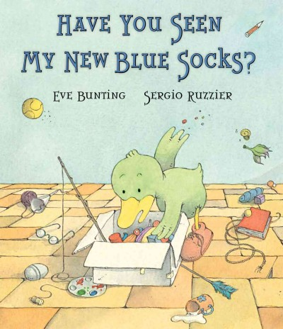 Cover of Have You Seen My New Blue Socks?