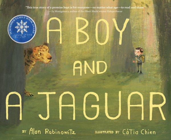 Cover of A Boy and a Jaguar