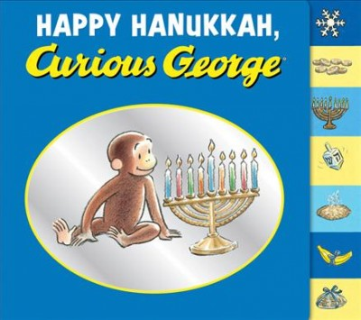 Cover of Happy Hanukkah, Curious George