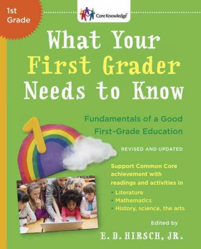 Cover of What Your First Grader Needs to Know (revised)