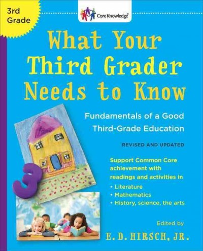 Cover of What Your Third Grader Needs to Know (Revised)