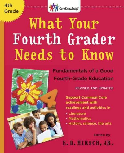 Cover of What Your Fourth Grader Needs to Know (Revised)