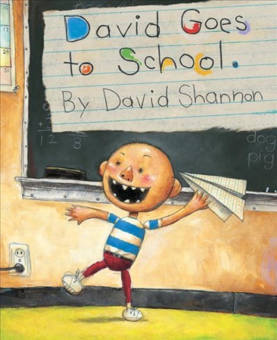 Cover of David Goes to School