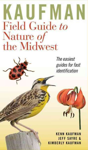 Cover of Kaufman Field Guide to Nature of the Midwest
