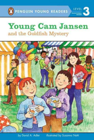Cover of Young Cam Jansen and the Goldfish Mystery