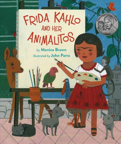 Cover of Frida Kahlo and her Animalitos