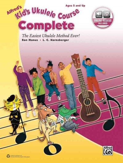 Cover of Alfred's Kid's Ukulele Course Complete: The Easiest Ukulele Method Ever!
