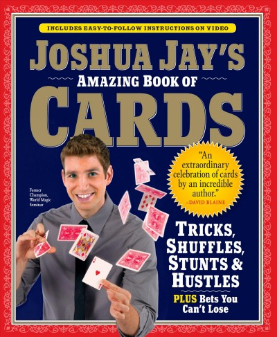 Cover of Joshua Jay's Amazing Book of Cards