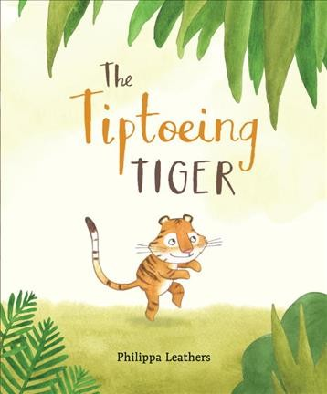 Cover of The Tiptoeing Tiger
