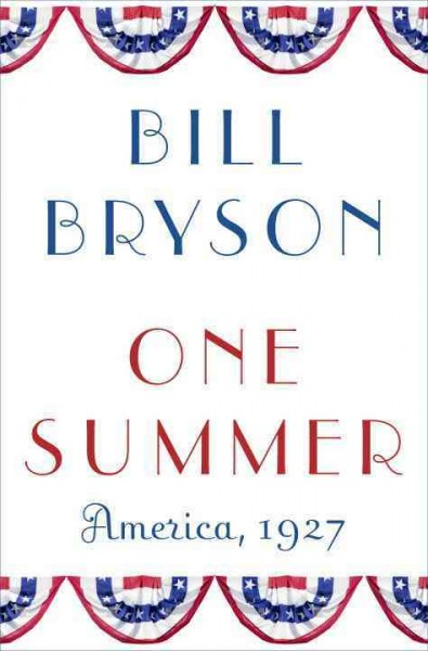 Cover of One Summer: America, 1927