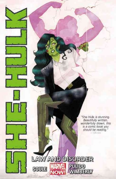 Cover of She-Hulk: Law and Disorder
