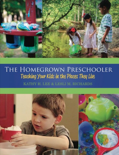 Cover of The Homegrown Preschooler