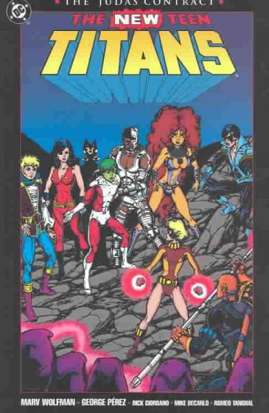 Cover of The New Teen Titans: The Judas Contract