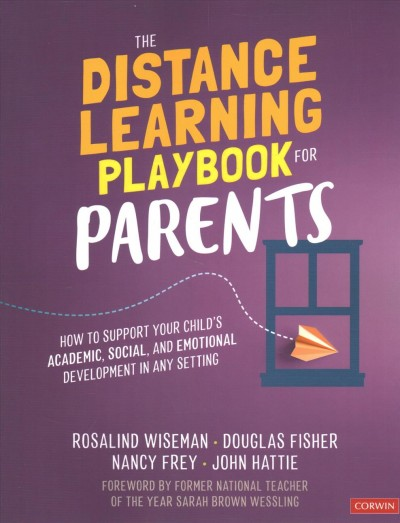 Cover of The Distance Learning Playbook for Parents