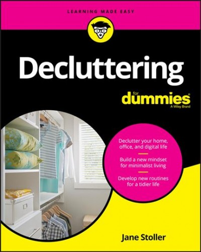 Cover of Decluttering for dummies