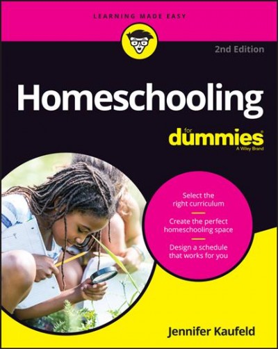 Cover of Homeschooling for Dummies
