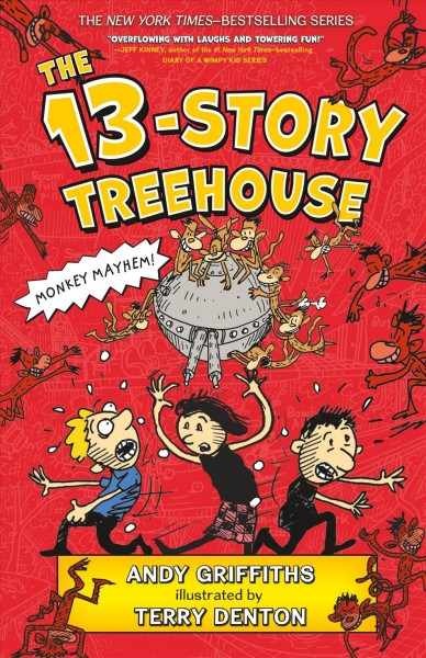 Cover of The 13-Story Treehouse