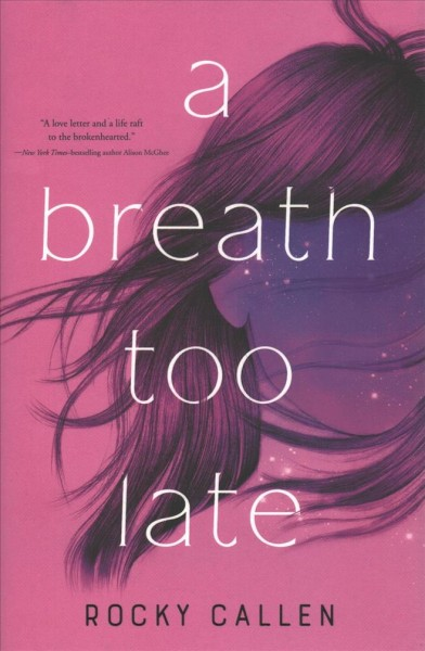 Cover of A Breath Too Late