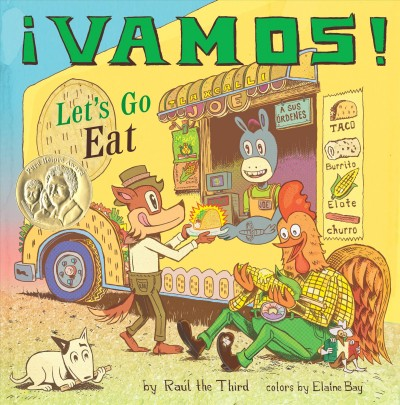 Cover of ¡Vamos!: Let's Go Eat