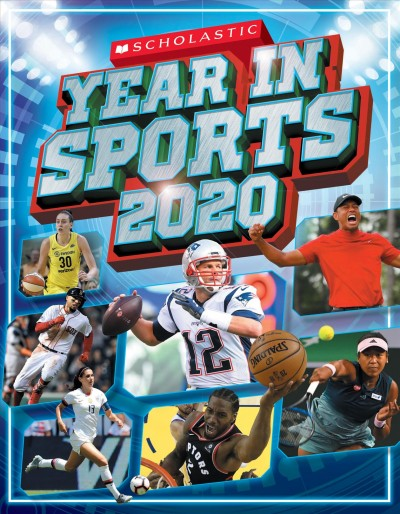 Cover of Scholastic Year in Sports 2020
