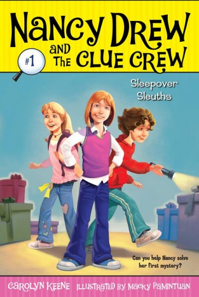 Cover of Sleepover Sleuths