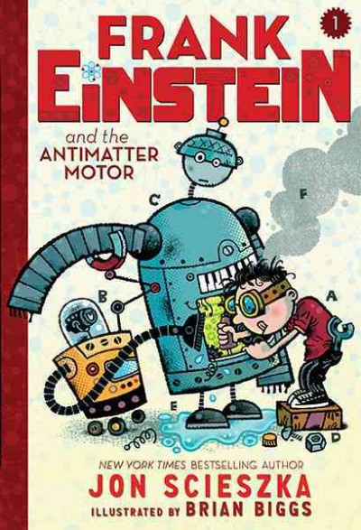 Cover of Frank Einstein and the Antimatter Motor
