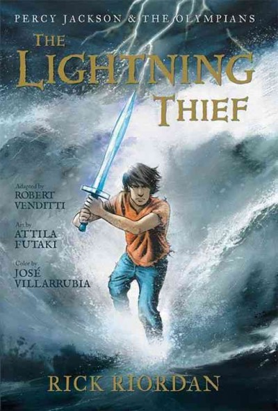 Cover of The Lightning Thief: The Graphic Novel