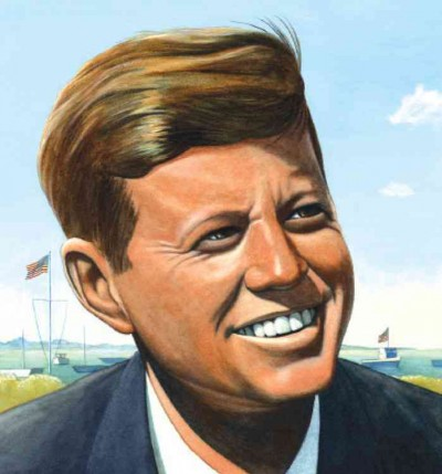 Cover of Jack's Path of Courage: the Life of John F. Kennedy