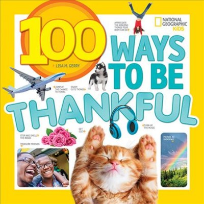 Cover of 100 Ways to Be Thankful