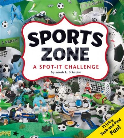 Cover of Sports Zone a Spot-it Challenge