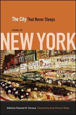Cover of The City That Never Sleeps: Poems of New York
