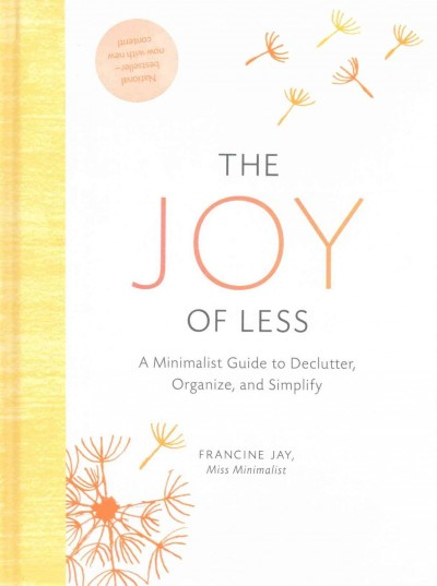 Cover of The Joy of Less