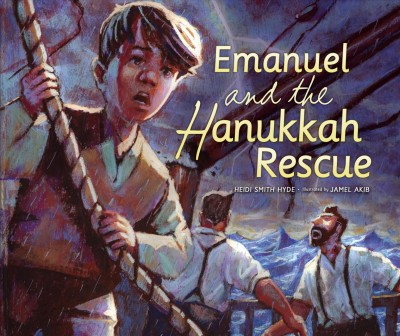 Cover of Emanuel and the Hanukkah Rescue
