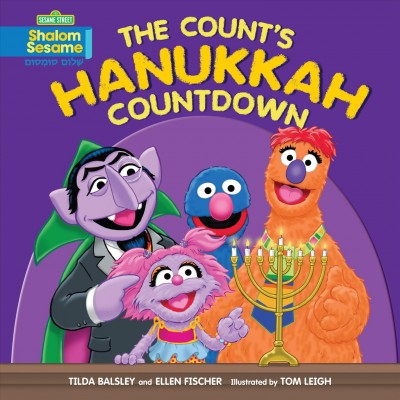 Cover of The Count's Hanukkah Countdown