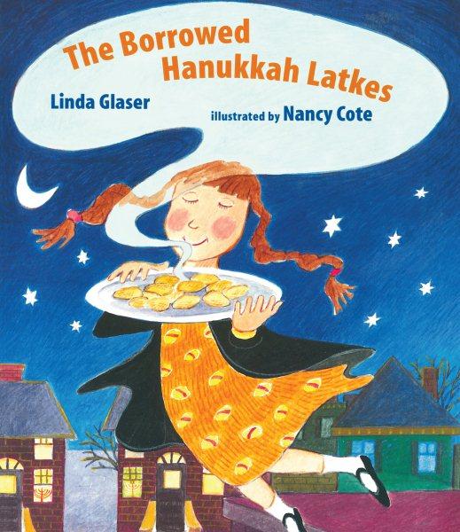Cover of The Borrowed Hanukkah Latkes