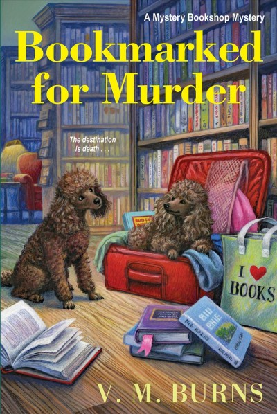 Cover of Bookmarked for Murder