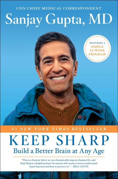 Cover of Keep Sharp: Build a Better Brain at Any Age