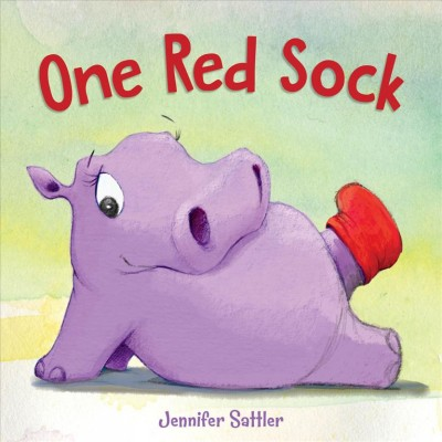 Cover of One red sock