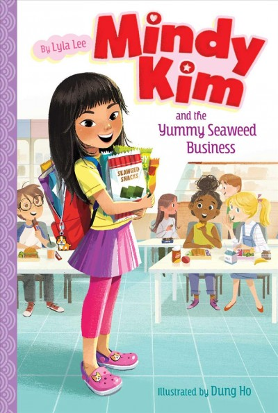 Cover of Mindy Kim and the Yummy Seaweed Business