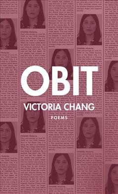 Cover of Obit: Poems