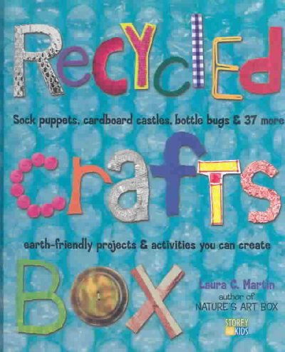 Cover of Recycled Crafts Box