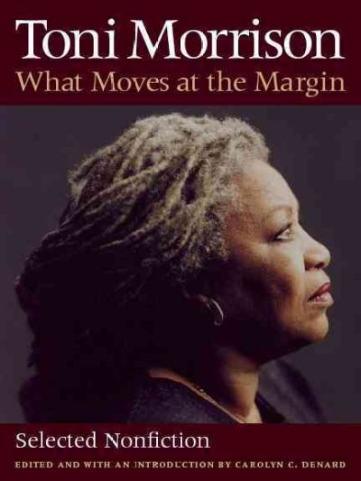 Cover of What Moves at the Margin: Selected Nonfiction