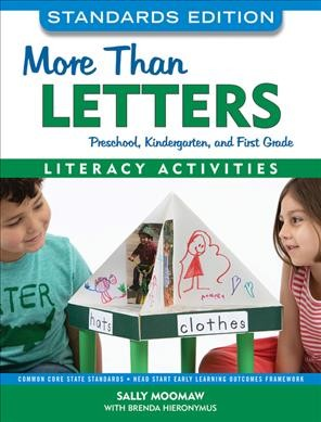 Cover of More than Letters: Literacy Activities for Preschool, Kindergarten and First Grade