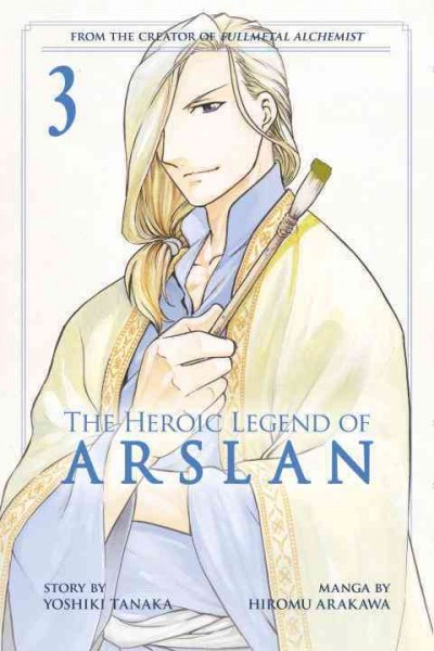 Cover of The Heroic Legend of Arslan