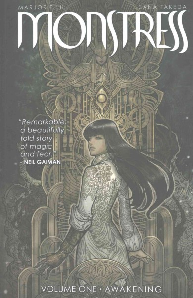 Cover of Monstress