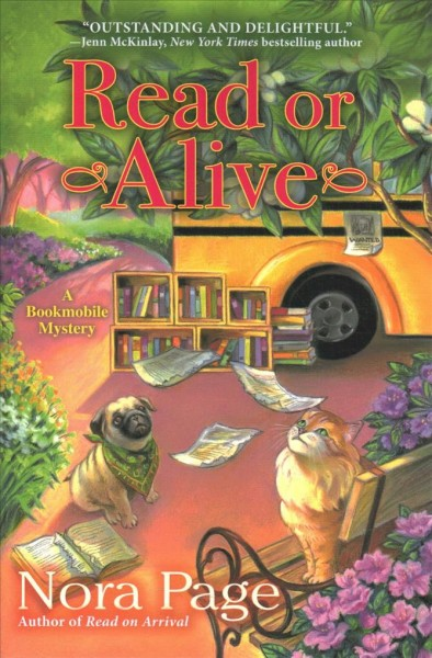Cover of Read or Alive: A Bookmobile Mystery