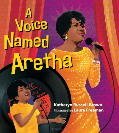 Cover of A Voice Named Aretha