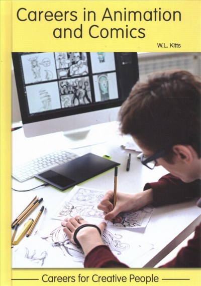 Cover of Careers in Animation and Comics