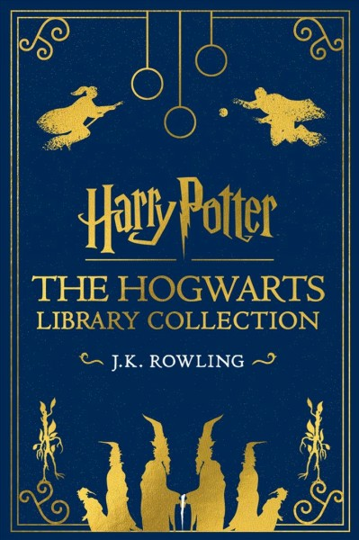 Cover of The Hogwarts Library Collection